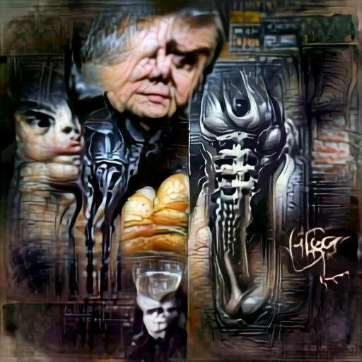 'H R Giger' Aleph2Image Delta v2 Text-to-Image