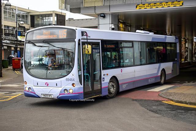 First South Yorkshire 69464 YN09 HFL