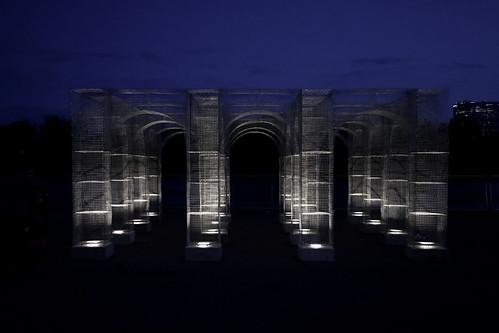 Light Pavilion by Edwin Baruch, New York
