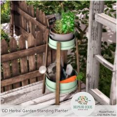 DD Herbal Garden Standing Planter AD