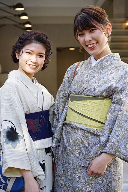 Kimono girls at Walden Woods