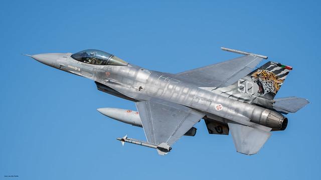 Portuguese Base Aérea Nº 11 , BA11, Beja, NTM Spottersday 06-05-2021, Portuguese F-16AM 15105 low pass.
