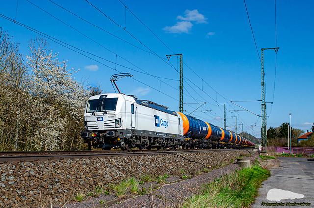 193 586-5 mit Kesselzug durch Eisenach am 25.04.2021