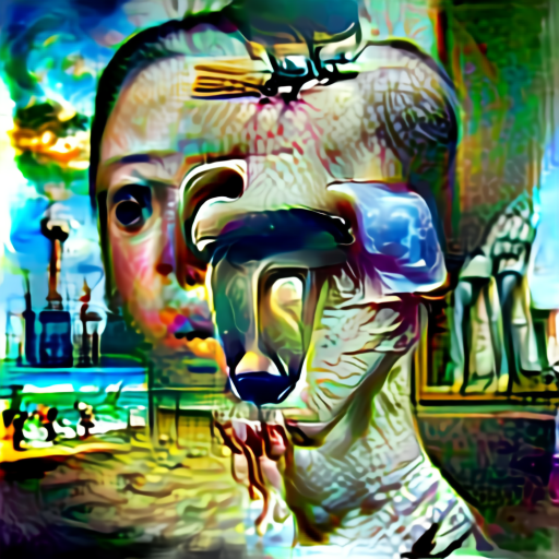 'surrealism' Aleph2Image Delta Text-to-Image