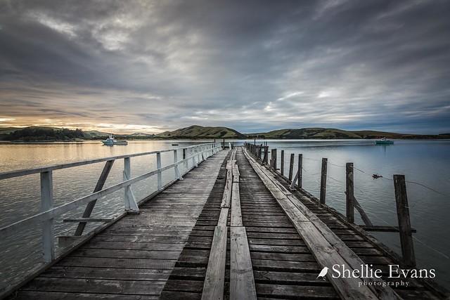 Waikawa Wharf, Catlins