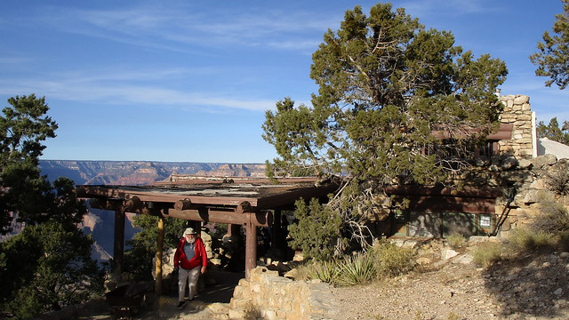 Arizona - Grand Canyon: Hermits Rest is a structure built in 1914 at the western end of Hermit Road @ South Rim