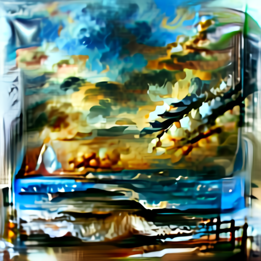 'seascape painting' Aleph2Image Delta Text-to-Image
