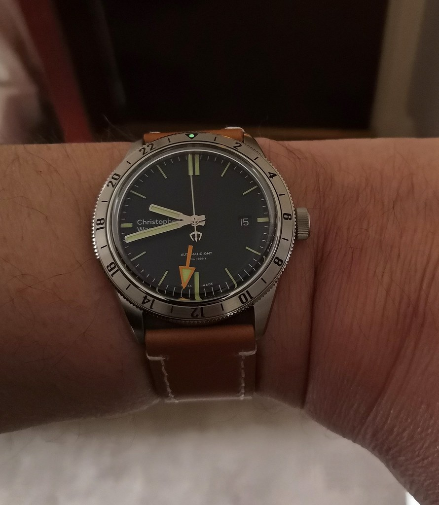 Christopher Ward 'C65 Trident GMT'  (Cal Sellita SW330)