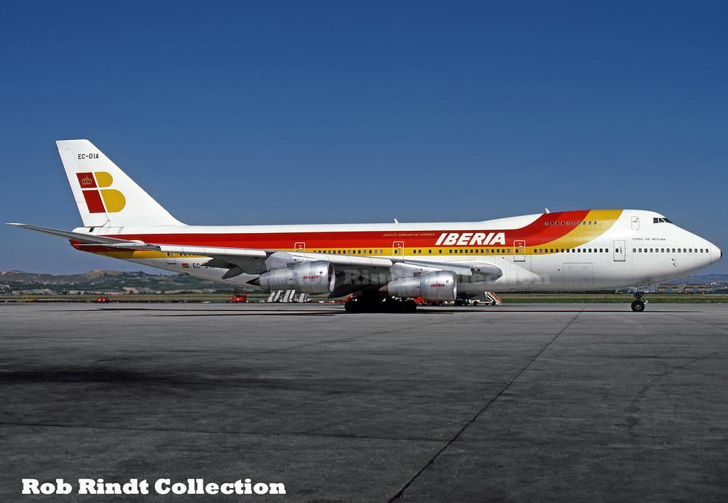 Iberia B747-256B EC-DIA