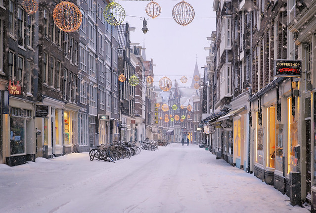 Amsterdamned - a winter of discontent and lockdown but still enchanted