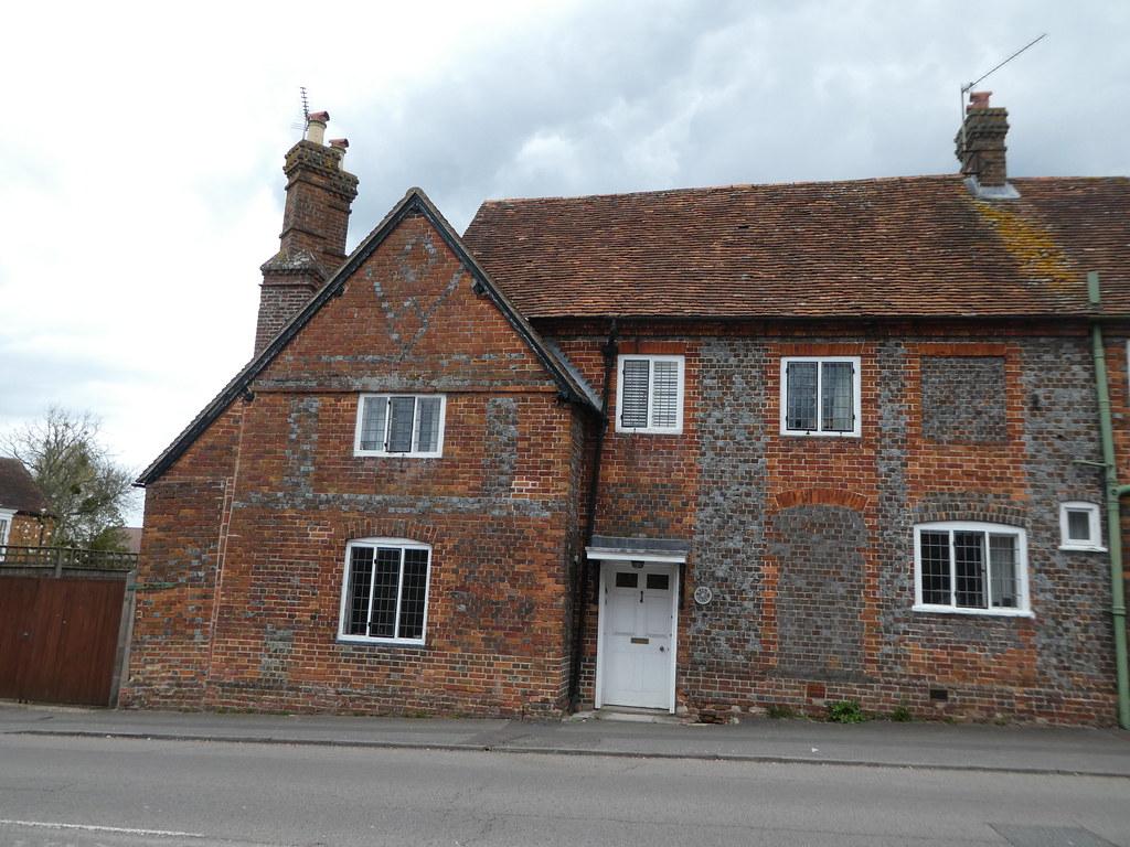 House with 'missing windows' Aldermaston