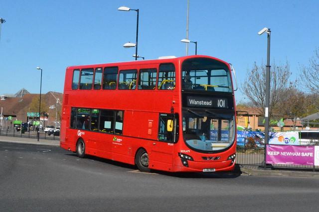 LJ61 NWN (WVL479) Go-Ahead London