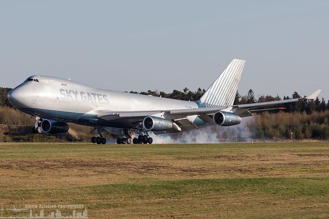 VP-BCH Sky Gates Airlines Boeing 747-467F (HHN - EDFH - Hahn)