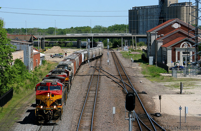 KCS' Trackage Rights to Topeka