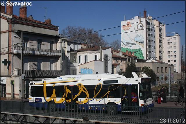 Heuliez Bus GX 317 GNV – Tisséo n°0337