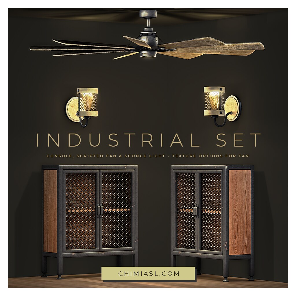 ChiMia Industrial Set now in the main store
