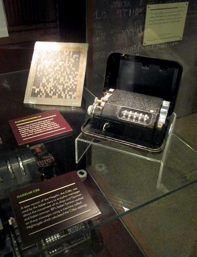 Hagelin Encryption Machine, Bletchley Park