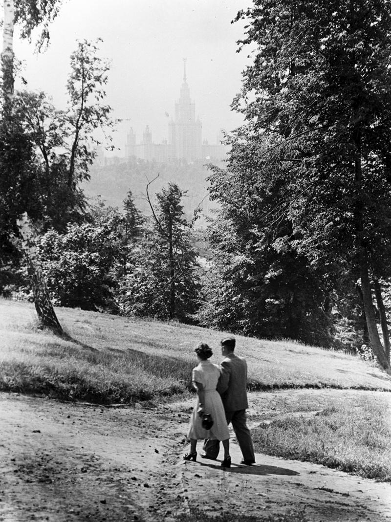 1953. В Нескучном саду
