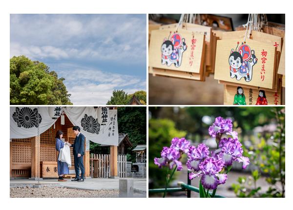 渋川神社(愛知県尾張旭市)へお宮参り 2021年4月