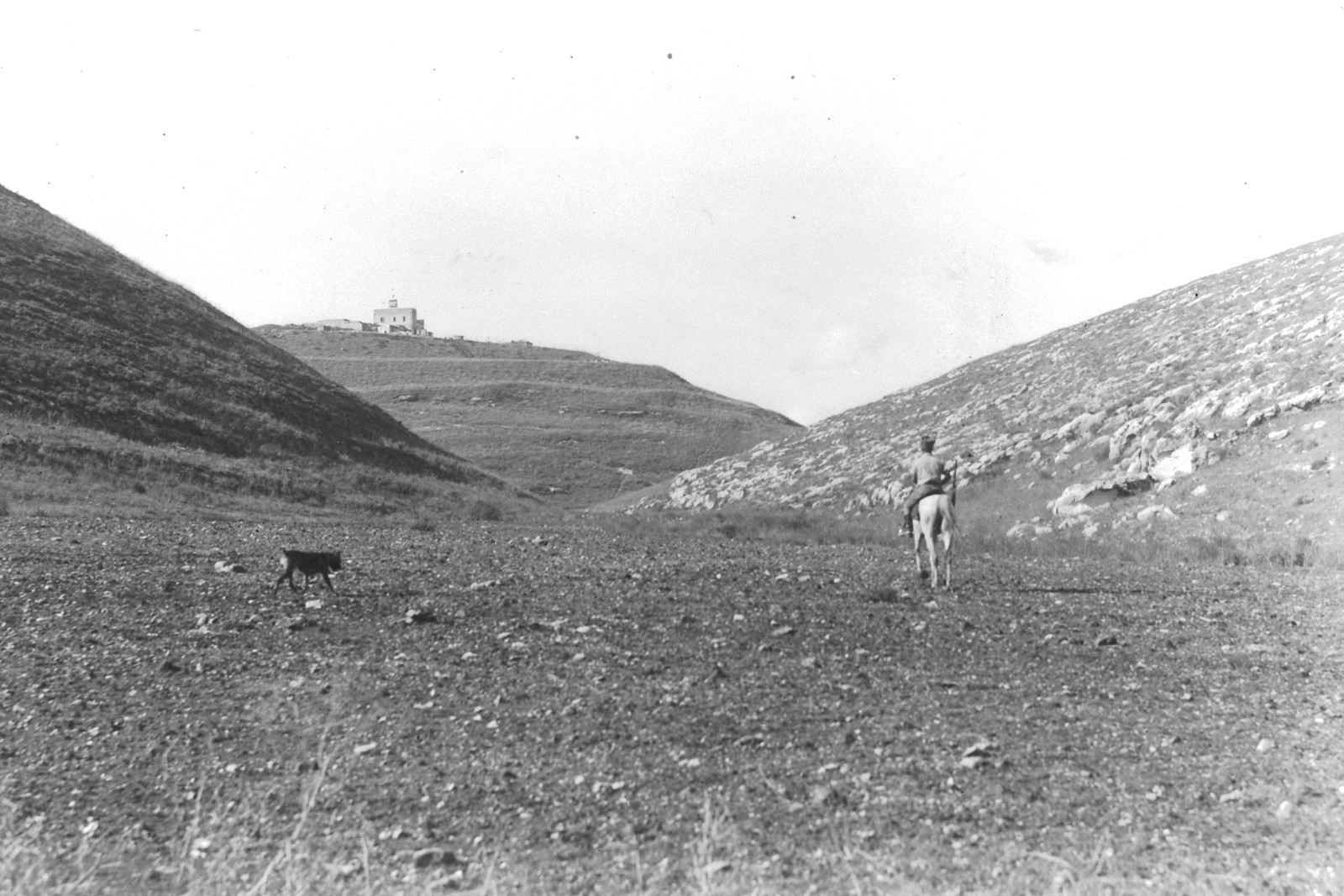 1937. Поля вокруг кибуца Эйн-А-Шофет