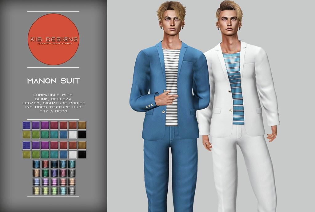 KiB Designs – Manon Suit @Sense Event 18th May