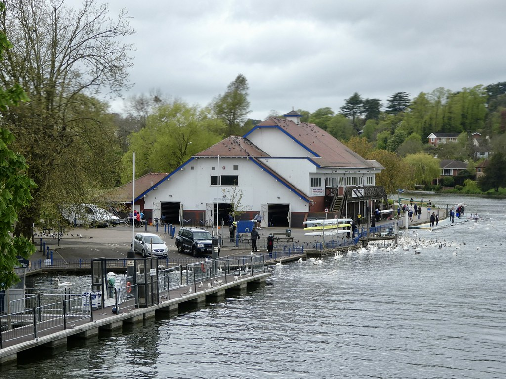 Reading Rowing Club overlooking the River Thames