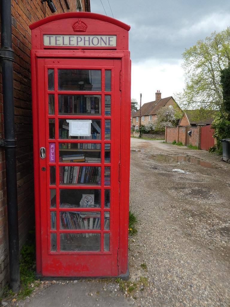Telephone Box Library, Aldermaston