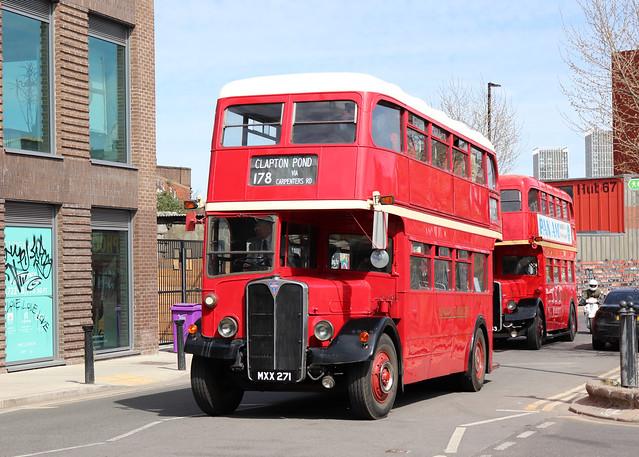MXX271 London Transport RLH71 Hackney Wick