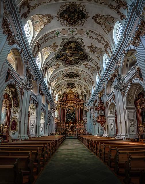 Jesuitenkirche in Luzern.