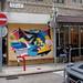 Street art Cafe on the Corner (Tai Hang)