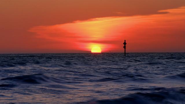 Honeymoon Island Sunset, Florida