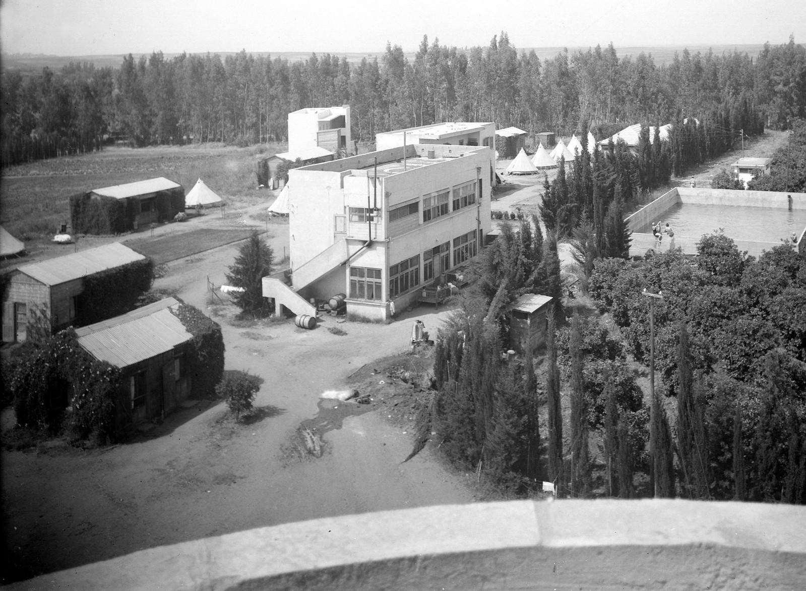 1939. Первые здание в кибуце Эйн-ха-Хореш