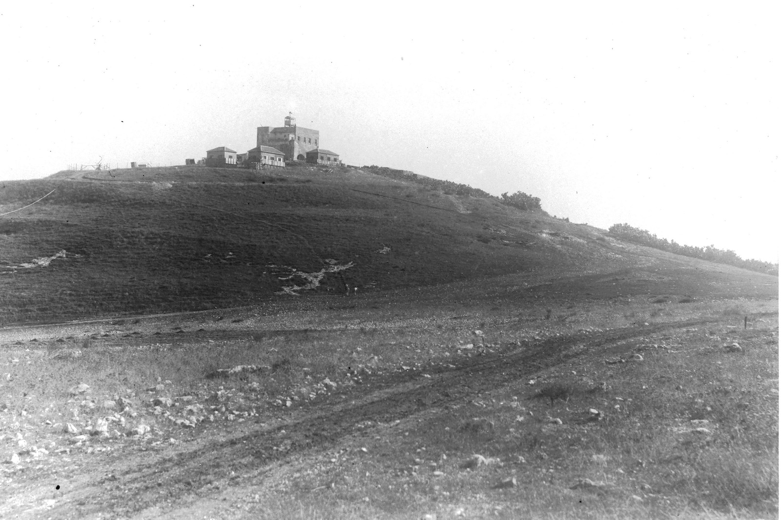 1937. Первые дома кибуца Эйн-А-Шофет