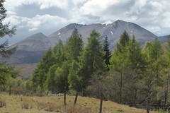 View of Beinn Eighe from Kinlocy