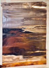 Debossing onto grey board and copper