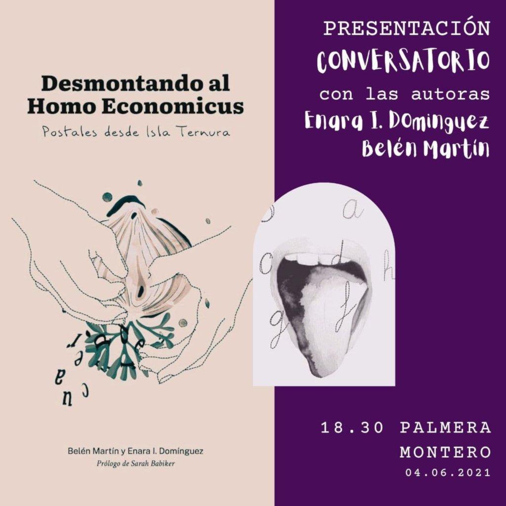 Cartel presentacion Desmontando Homo Economicus