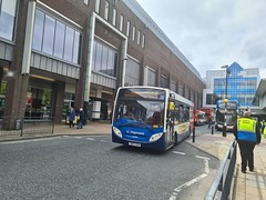 Stagecoach Newcastle 36961/SN63 VUU on Newcastle Blackett Street on the 32A to Walker
