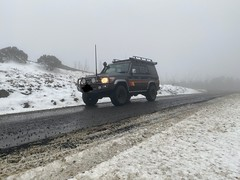 Quick trip up to Mt Useful for the kids to play in the snow