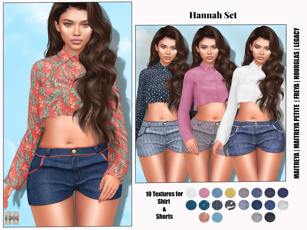 Hilly Haalan – Hannah Set