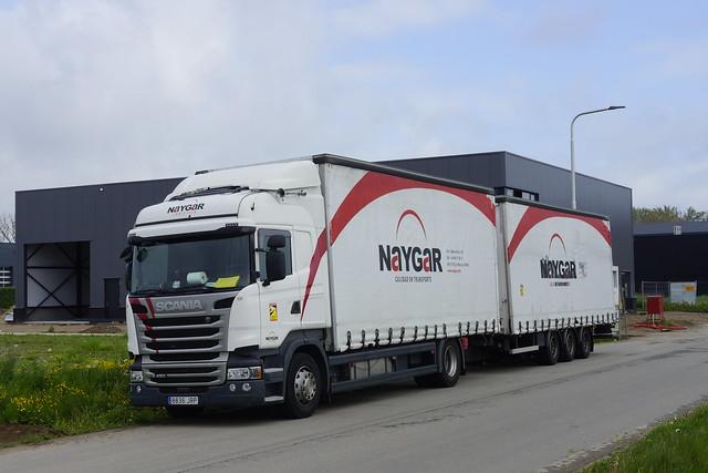 Scania R 450 NAYGAR Logistica 131 met kenteken  8836 JRP in Bemmel 16-05-2021