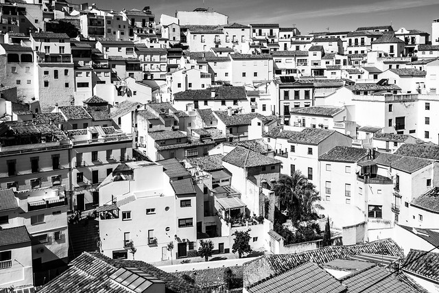 Spain - Cadiz - Setenil from Mirador del Carmen