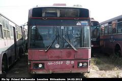 NA-0549 Kadawatha Depot Hino - U-HT2MLAAKAI  C type Bus at Nittambuwa in 24.02.2012