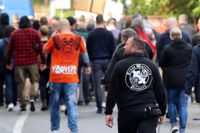 """""""Freidenker""""-Demo mit NPD-Beteiligung in Anklam"""