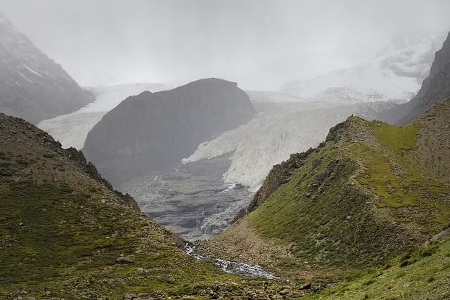 Mountain Jetung Chusang glacier, Tibet 2019