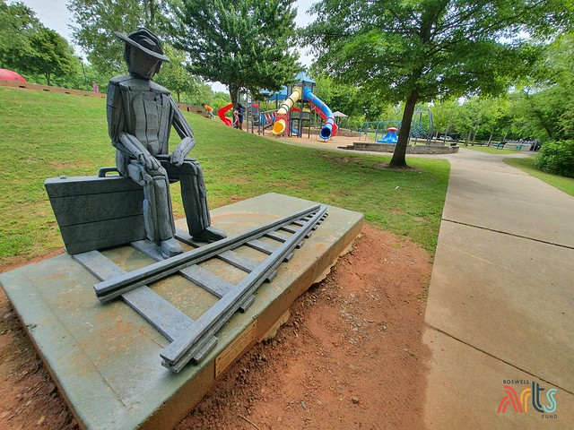 ArtAround Roswell: Waiting on a Train of Thought