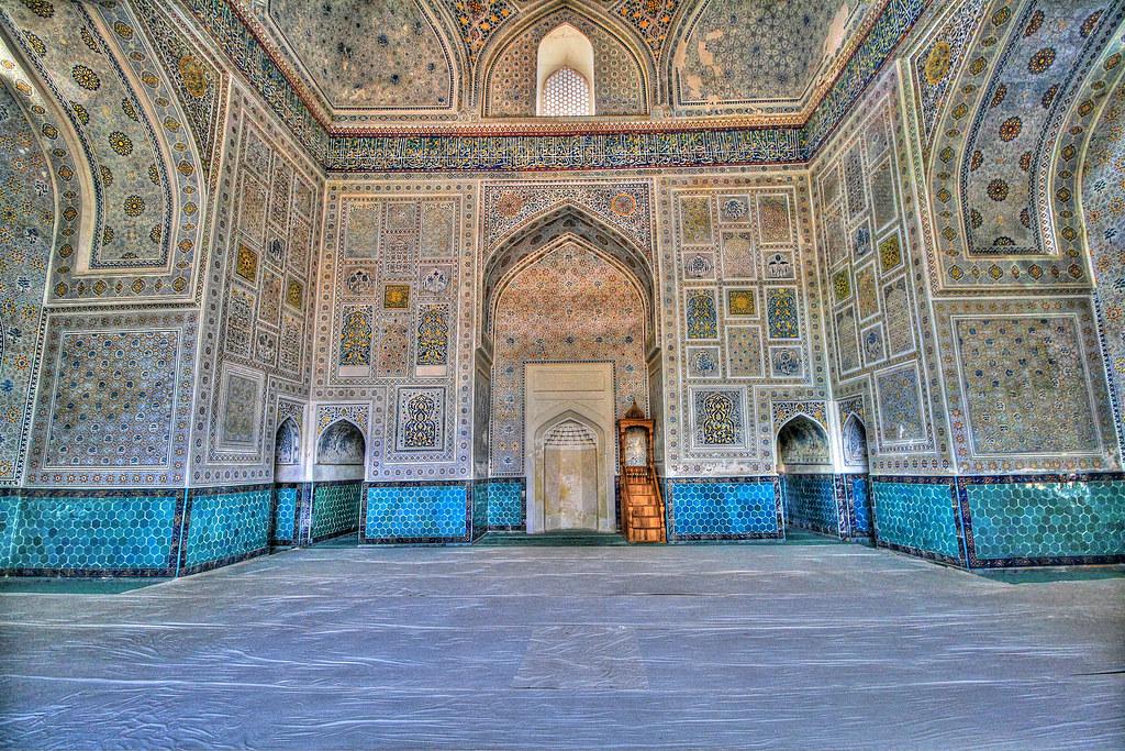 Shahrisabz UZ - Kok-Gumbaz mosque 09