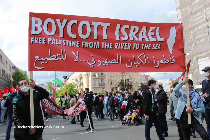 """15.05.2021 Berlin: offener Antisemitismus und Gewalt bei israelfeindlichem """"Nakba""""-Tag in Neukölln"""