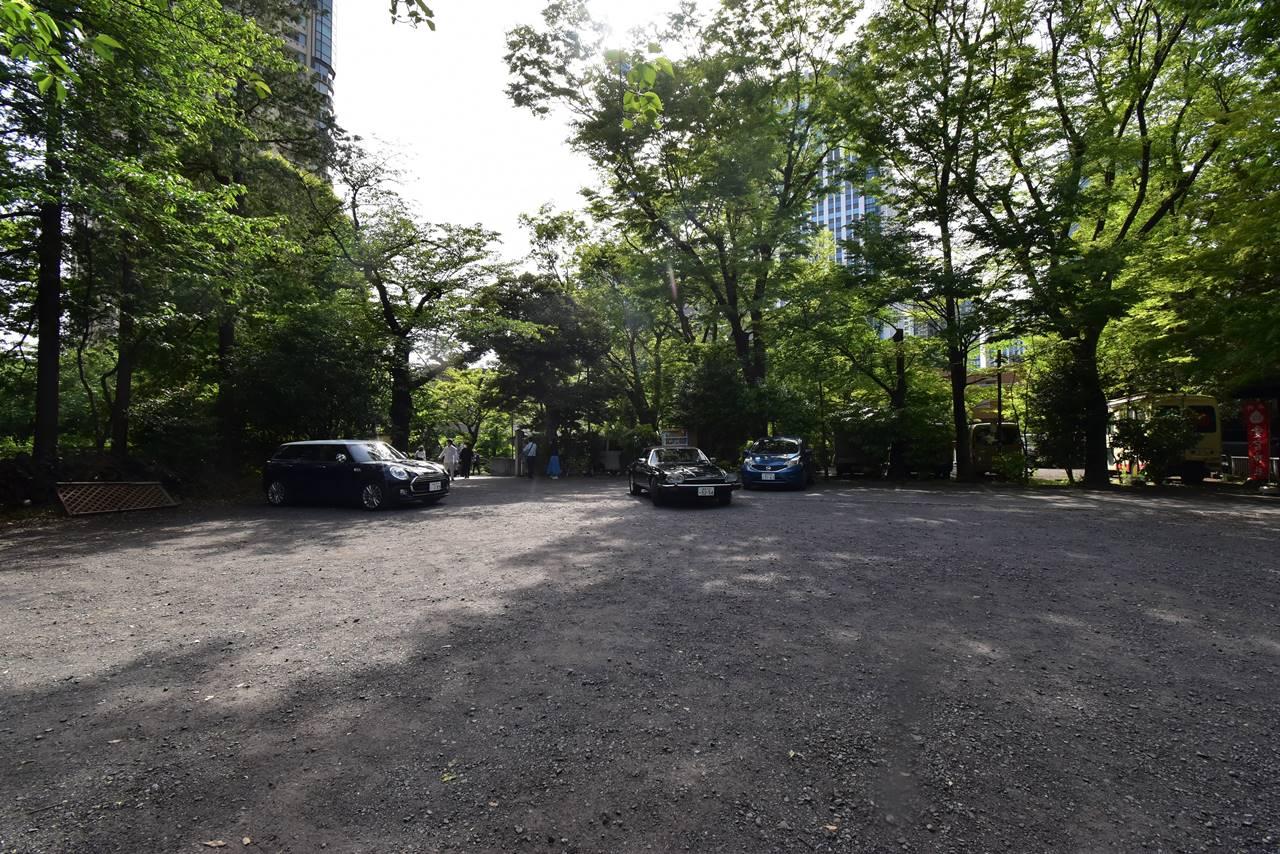 【東京港区】愛宕山・駐車場