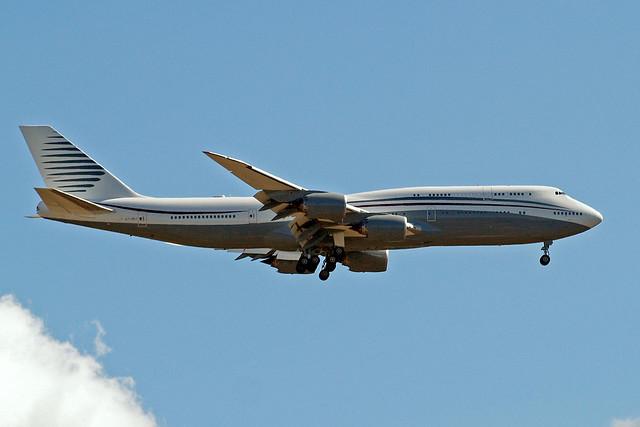 A7-HBJ   Boeing 747-8K8 (BBJ) [37075] (Qatar Airways Amiri Flight) Home~G 19/07/2015