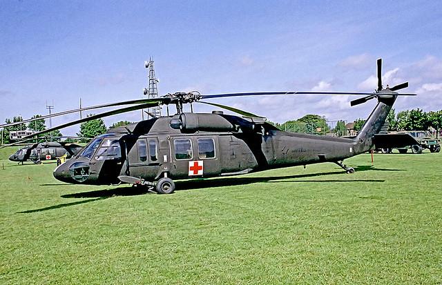 82-23742 Sikorsky UH-60A Blackhawk [70565] (United States Army) RAF Mildenhall~G 29/05/1993